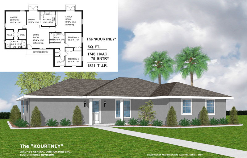 The Kourtney | New Home Construction | Jerome's General Contractor