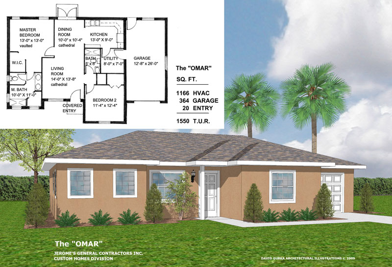 The Omar | New Home Construction | Jerome's General Contractor