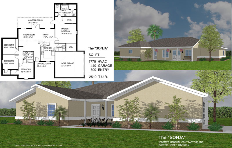 The Sonja | New Home Construction | Jerome's General Contractor